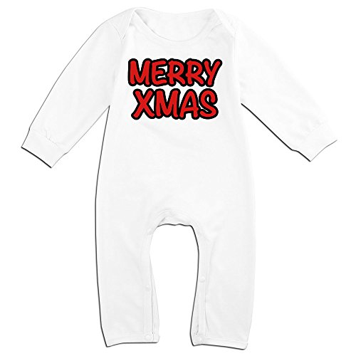 Yours Merry Xmas Christmas For 6-24 Months Boys&Girls Cool T-shirt White Size 12 Months (Doc Mcstuffins Toaster compare prices)