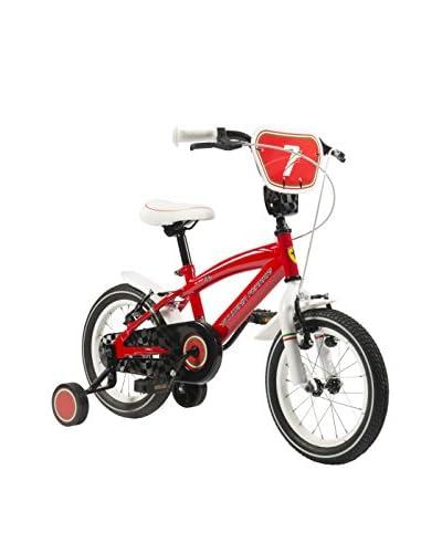 SCUDERIA FERRARI Bicicleta Kid Team 12 Rojo
