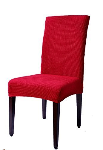 Subrtex Jacquard Stretch Dining Room Chair Slipcovers 4