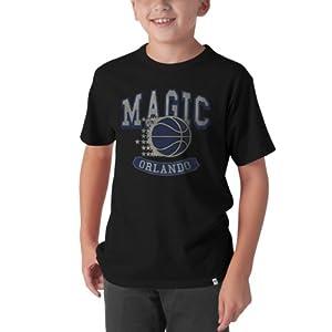 NBA Orlando Magic Flanker Basic Tee, Jet Black by