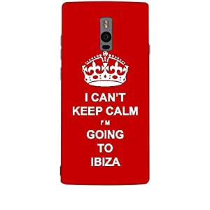Skin4gadgets I CAN'T KEEP CALM I'm GOING TO IBIZA - Colour - Red Phone Skin for ONE PLUS TWO