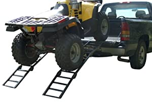 Traxion 5-300 Load-Trax Steel Three-Section Folding Arched Ramp