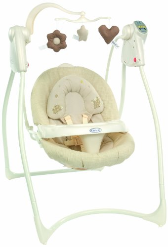 Graco Loving Hug Swing for (Biscuit, 0 - 9 Months)