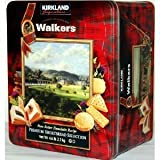 Walkers Premium Shortbread Selection 4 Varieties Gift Tin Net Wt 4.6 lb (2.1 Kg)