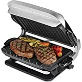 George Foreman GRP4EMB Black Evolve Grill with 2 Grill Plates, 1 Deep-Dish Bake Pan and 1 Cupcake and Muffin Pan Insert