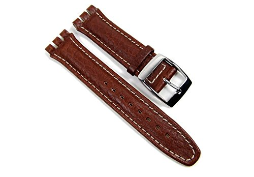 morellato-sheraton-fittizio-watch-band-replacement-band-eco-leather-brown-19mm-for-swatch