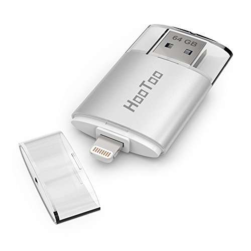 HooToo-iPhone-64GB-USB-30-Flash-Drive-with-Lightning-Connector-External-Storage-Memory-Expansion-for-iPads-iPods-Computers