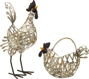 IMAX 84116-2 Gentry Wire Chicken and