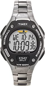 Timex Ironman 30 LAP T5H981 SU Digital Quartz Sports Watch with Steel and Resin Strap