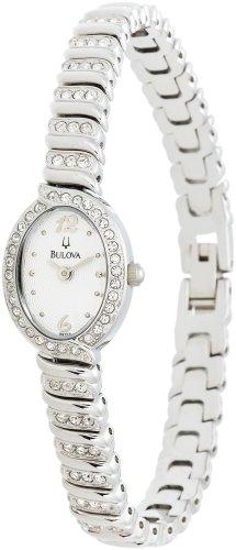 Bulova Women's 96T53 Swarovski Crystal Bracelet Watch