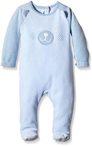 Absorba Playwear-Pigiama Unisex - Bimbi 0-24, Blu (Ciel), 18 mesi