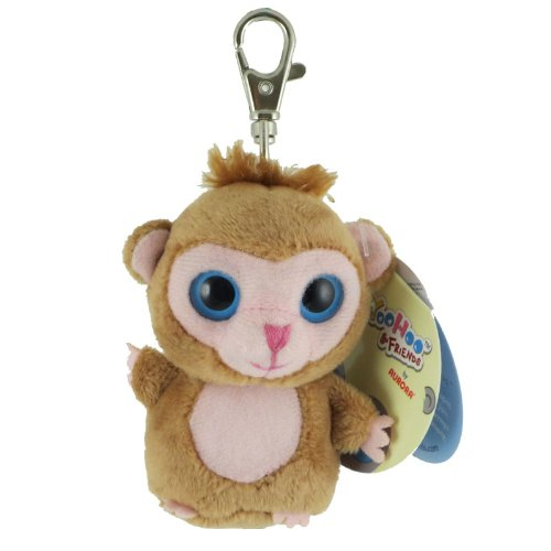 "Luvee Monkey Yoohoo Clip on 3"" by Aurora"