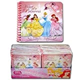 Disney Collectible Notebooks & Journals: Cars, Minnie Mouse, & Princess. Mix & Match! (PINK Princess Puffy Cover Small Notepad)
