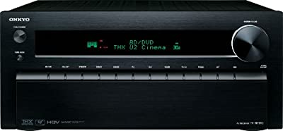 Onkyo TX-NR1010 7.2-Channel THX Certified Network A/V Receiver (Black) from Onkyo