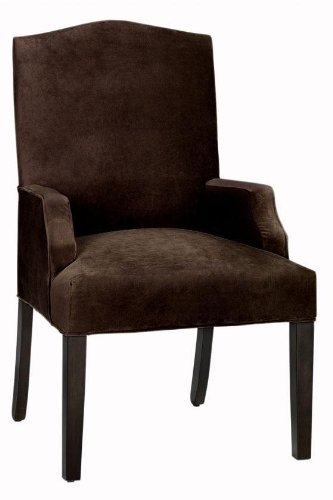 Buy Low Price Home Decorators Collection Camel back Dining Chair, DINING, BELLA ESPRESSO (B003Z91P0M)