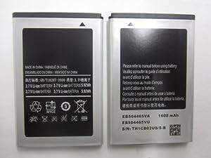 Standard Replacement Li-ion Battery For Samsung Galaxy Prevail M820 Intercept M910 Transform M920 SPH-M920 Galaxy Indulge R910 Replenish M580 Galaxy Gio S5660 Craft SCH-R900 Sidekick 4G EB504465VU - EB504465VA