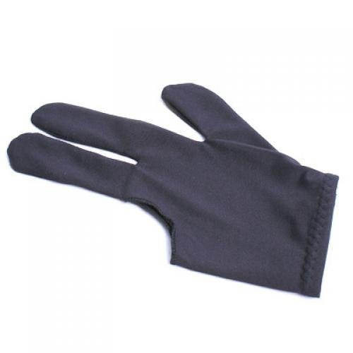 3-Finger Pool Shooters Billiard Glove--Black