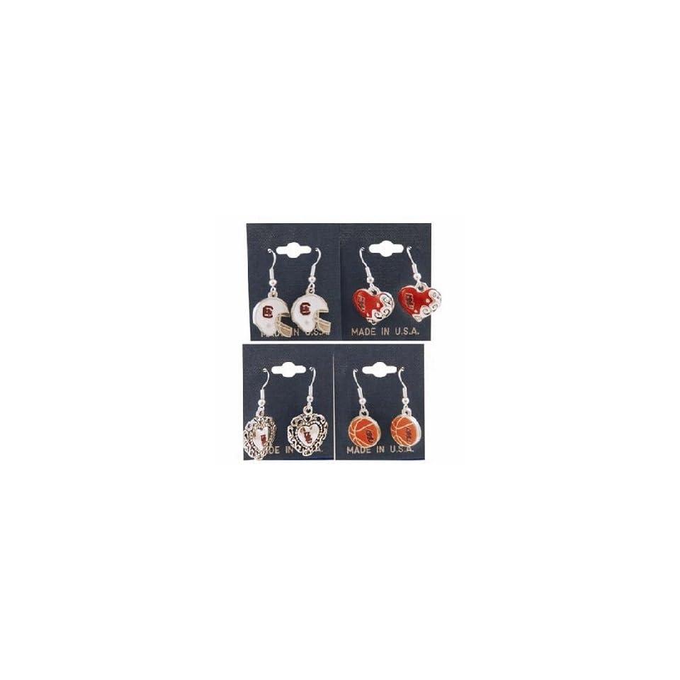 South Carolina University Jewelry Earrings Assorte Case Pack 36