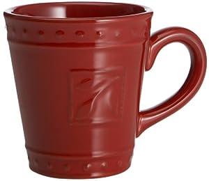 Signature Sorrento Set of 2 Mugs, Ruby