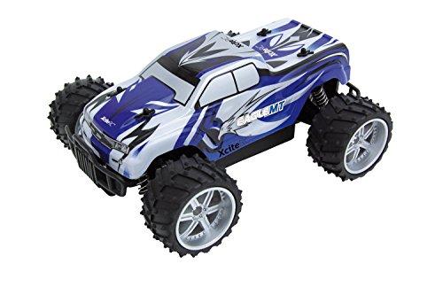 XciteRC-30507000-Ferngesteuertes-RC-Auto-Eagle-Monster-Truck-M-116-2WD-RTR-Modellauto-blaue-Karosserie