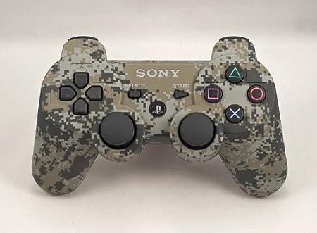 PS3 PLAYSTATION 3 Urban Camo Modded Controller (Rapid Fire) COD Black Ops - QUICKSCOPE, JITTER, DROP SHOT, AUTO AIM