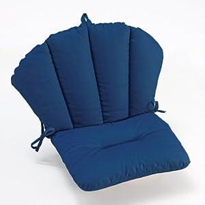 Amazon.com : Coral Coast Valencia Barrel Back Chair Cushion - 18 x 30 in. : Patio, Lawn & Garden