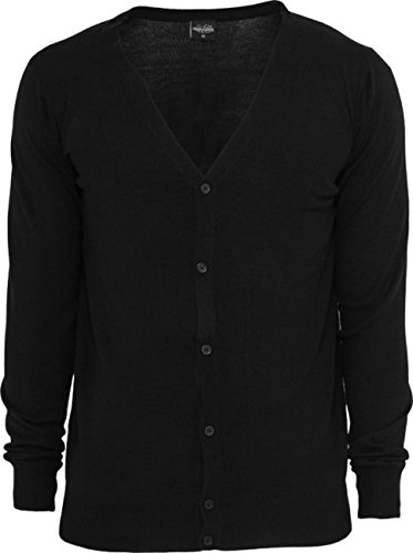 Urban Classics Herren Strickjacke Knitted Cardigan TB405 Regular Fit