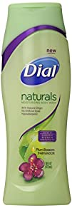 Dial Body Wash Naturals Plum Blossom and Almond 16 Ounce