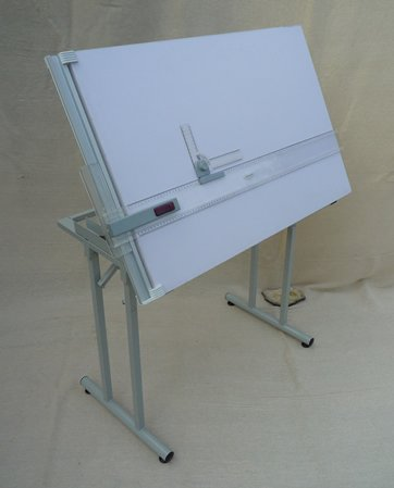 Bertram Spark A1 Drafting Table with Drafting Head and Instrument set.