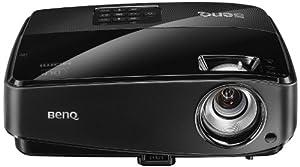BenQ MS517 DLP-Projektor (3D, Kontrast 13000:1, SVGA 800x600 pixel, 2800 ANSI Lumen, HDMI, Smart Eco) schwarz