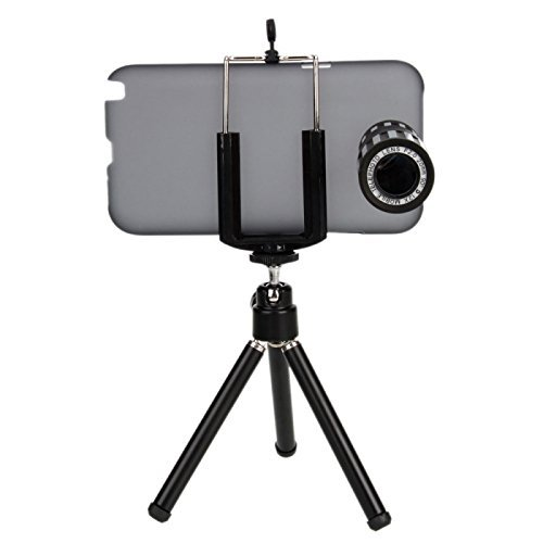 Great Value 12X Zoom Telephoto Lens Telephone Lens With Tripod For Samsung N7100