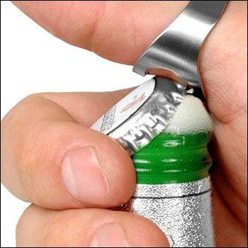 Partygag Bier Flaschenöffner Ring: 24 mm