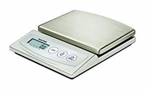 Salter 6055SSDR Stainless-Steel Digital Kitchen Scale