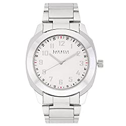 Laurels Polo 6 Analog White Dial Mens Watch ( Lo-Polo-601)