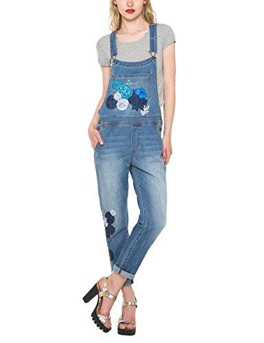 Desigual Blondie Overall-Jeans Donna    Blau (DENIM MEDIUM LIGHT 5160) W25