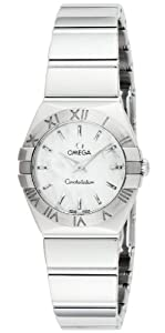 Omega Women's 123.10.24.60.05.002 Constellation Mother-Of-Pearl Dial Watch