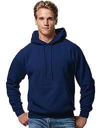 Hanes ComfortBlend EcoSmart Pullover Hoodie Sweatshirt, Navy, 2XL