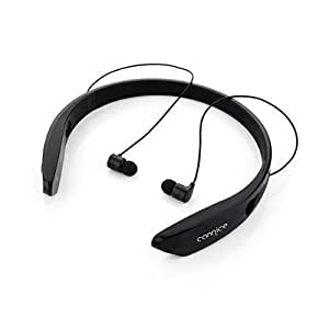 Cannice W2 Sports Wireless Bluetooth In-Ear Earphone Headset For Lava Discover 135 (Black)