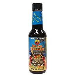 Island Treasure Spicy Jamaican Sauce 5oz