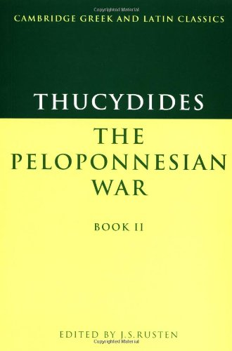 Thucydides: The Peloponnesian War Book II (Cambridge Greek and Latin Classics) (Greek Edition)
