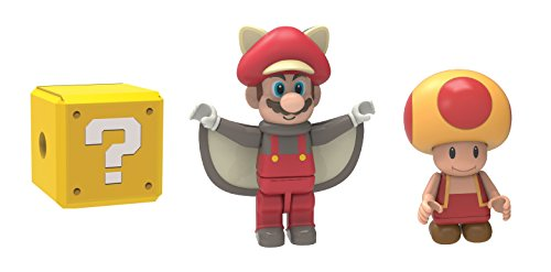 K'nex Super Mario - Flying Squirrel Mario, Fire Toad and Mystery Figure - 1
