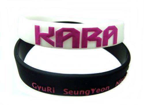 2 PC KARA Kpop Accessories Wristband (Kara Merchandise compare prices)