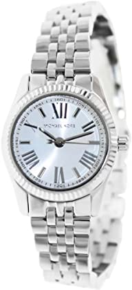 Michael Kors Mini-Size Stainless Steel Lexington Three-Hand Women's watch #MK3228