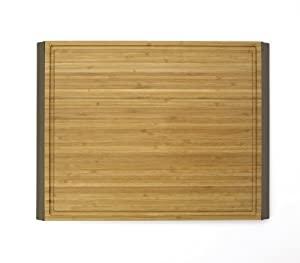 OXO Good Grips 12-by-16-Inch Large Bamboo Cutting Board, Bamboo