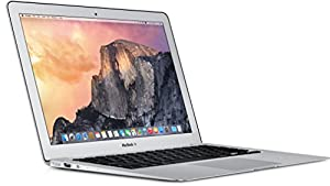 Apple MacBook Air MJVP2D/A 29,5 cm (11,6 Zoll) Notebook (Intel Core i5 5250U, 1,6GHz, 4GB RAM, 256GB HDD, Mac OS) silber