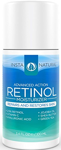 InstaNatural Retinol Moisturizer Cream - With