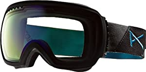 Anon Men's Comrade Premium Goggles - Black Suede/Blue Lagoon