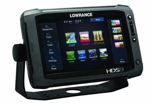 Lowrance HDS-9 Gen2 Touchscreen Charplotter with 83/200 KHz Skimmer