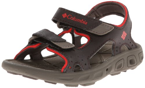 Columbia Childrens Techsun Vent 3 Strap Water Sandal (Toddler/Little Kid),Cordovan/Spicy,13 M Us Little Kid front-981434