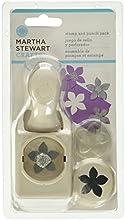 Martha Stewart timbro e Punch Set-fiore